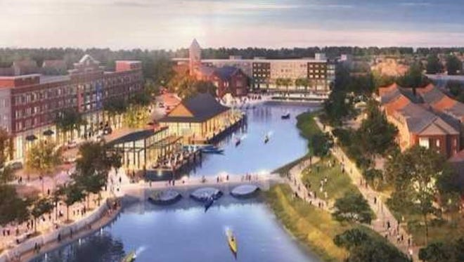 The latest concept rendering for the Lake District development in Lakeland
