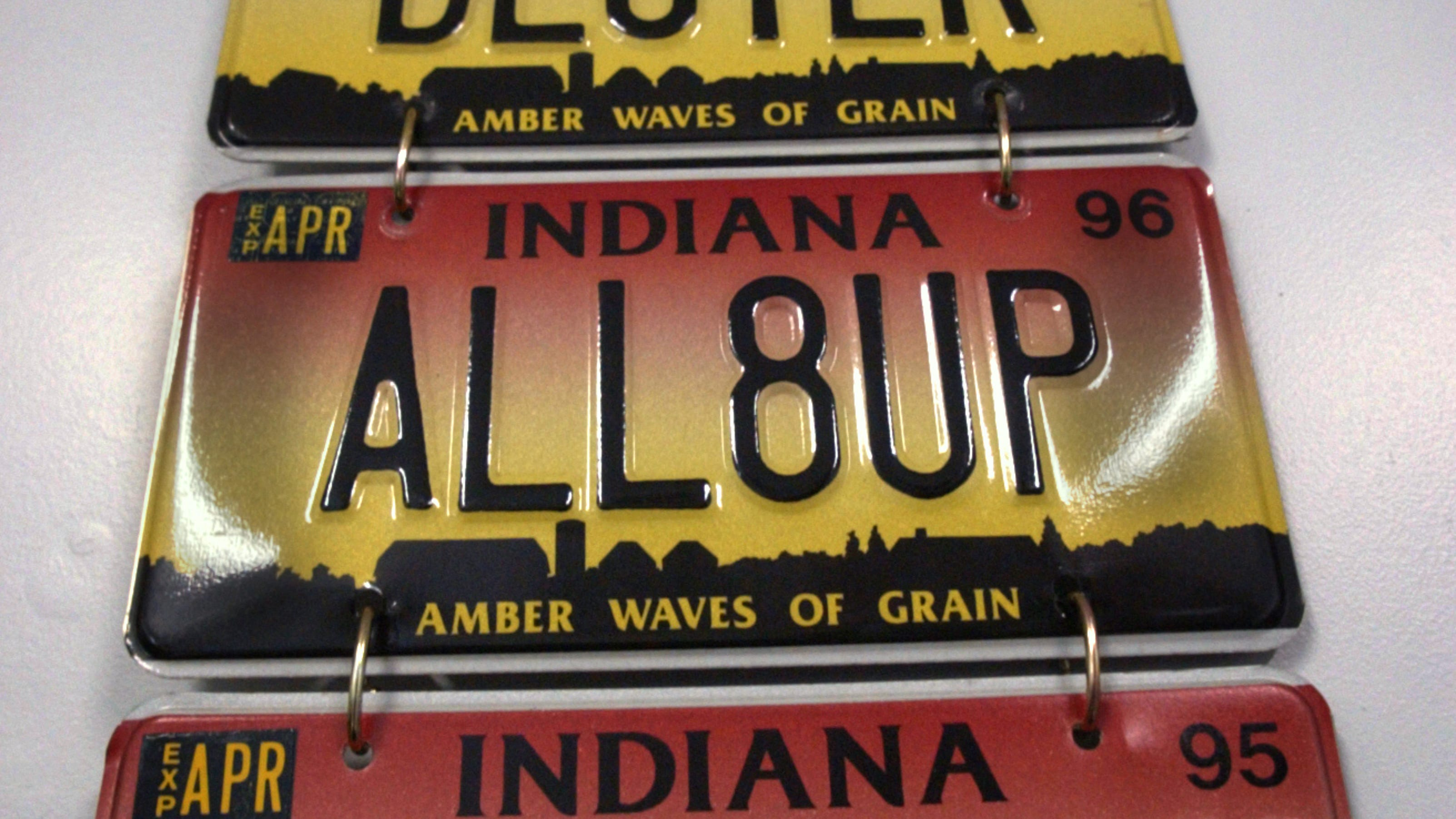 Judge Rules Against Indiana Bmv In 0ink License Plate Case