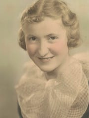 Sister Cecelia Vandeberg, who turns 100 this month, is pictured as a teenager in North Dakota.