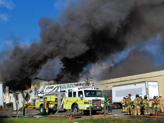 Cosmetics Factory Explosion