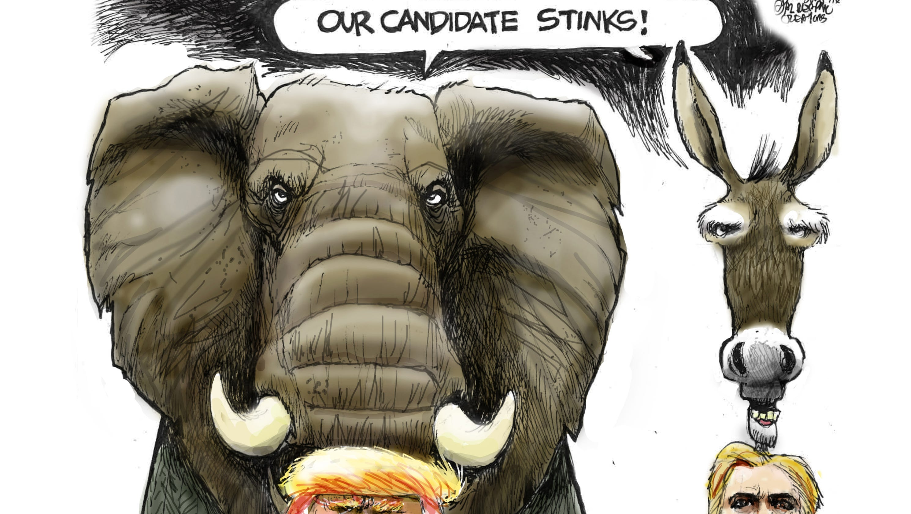 May political cartoons from the USA TODAY NETWORK