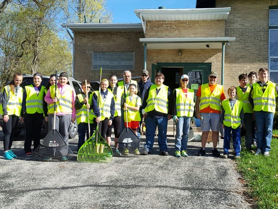 Helenville cleanup