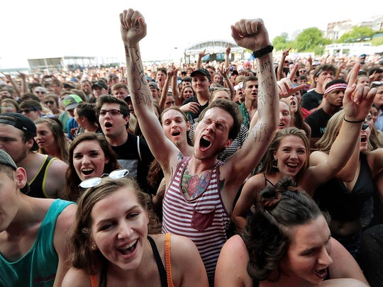 Thousands flock to Memphis each year for the Beale Street Music Festival.