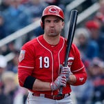 Cincinnati Reds star Joey Votto is looking to improve a different aspect of his game