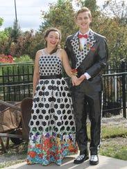 Emily O'Gara and Ethan Weber of Lincoln, Nebraska,