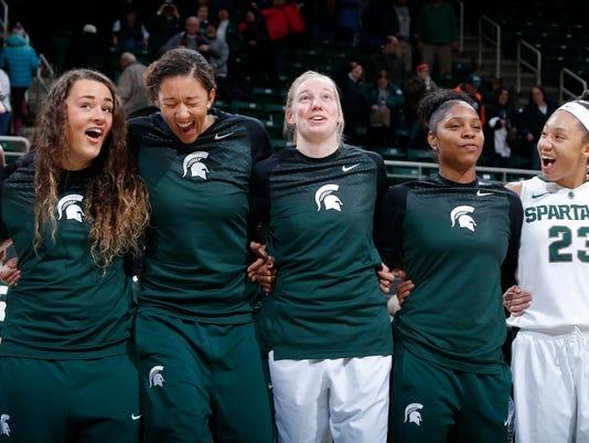 MSU vs Illinois women's basketball