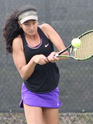 Bloomfield Hills junior Tia Mukherjee heads into the Division 1 state tournament seeded second at No. 1 singles flight.