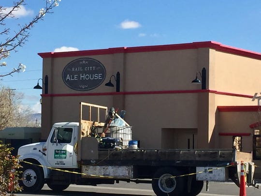 Rail City Ale House lies just off the western entrance of Rail City Casino in Sparks.