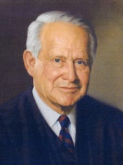Perry Hooper Sr.'s official portrait.