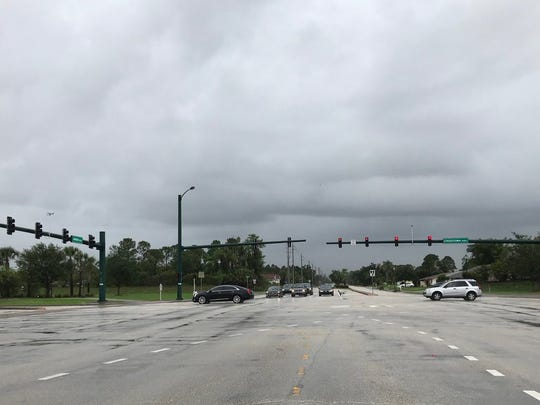 If an effort to increase sales tax in St. Lucie County succeeds at the ballot in November, the share of revenue for the city of Port St. Lucie could be used in part for synchronizing traffic signals on Crosstown Parkway, seen here in May 2018.