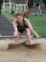 Madison's Kari Eckenwiler was the Ohio Cardinal Conference meet MVP last year as a freshman, leading the way as the Ram dethroned Lexington.