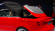 The top for the Audi A3 Cabriolet goes up or down in 18 seconds.