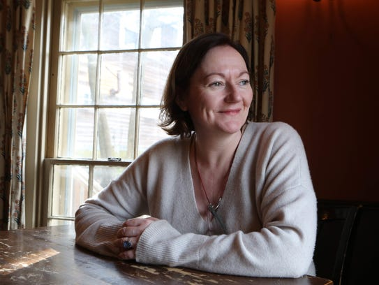 Agnes Devereux, the chef and owner of The Village Tearoom
