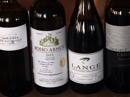 Wines from around the world, such as these and others mentioned in Chef Owen's story, are destined to be sipped at the Glory of the Grape celebration.