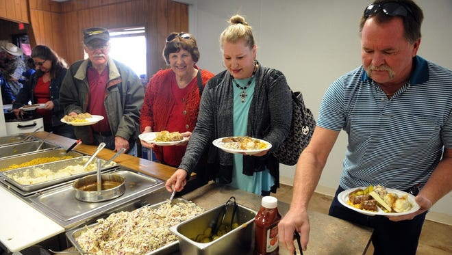 More than 1,500 gourmands in 2016 stopped by the Knights of Columbus Hall in Scotland, Texas, to partake of the Knights' much-anticipated German Sausage Meal. The event returns on Super Bowl Sunday.
