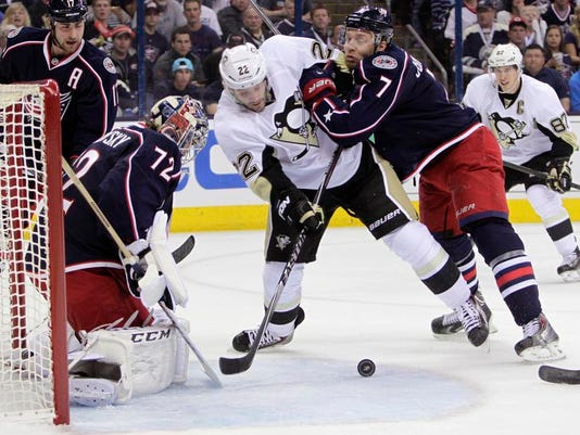 Penguins Blue Jackets Hockey