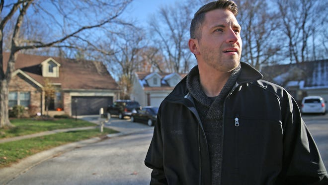 Woods of North Kessler neighborhood crime watch captain Ryan McConnell talked Monday, Nov. 23, 2015, about the relief the neighborhood felt after arrests were made in the slaying of Amanda Blackburn.