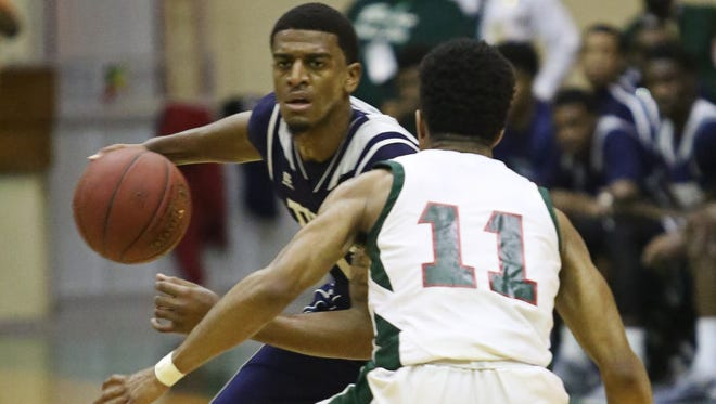 JSU guard Raeford Worsham, dribbling, will try to help the Tigers earn a regular-season sweep of Alcorn State on Saturday.