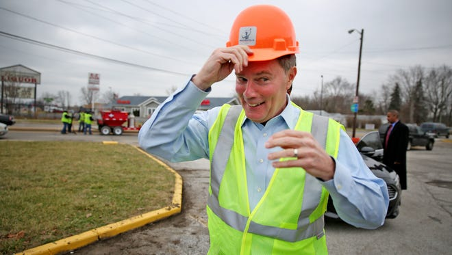 Mayor Joe Hogsett is planning to dramatically increase spending on transportation infrastructure projects, in part because of a new gas tax increase passed earlier this year by the state.