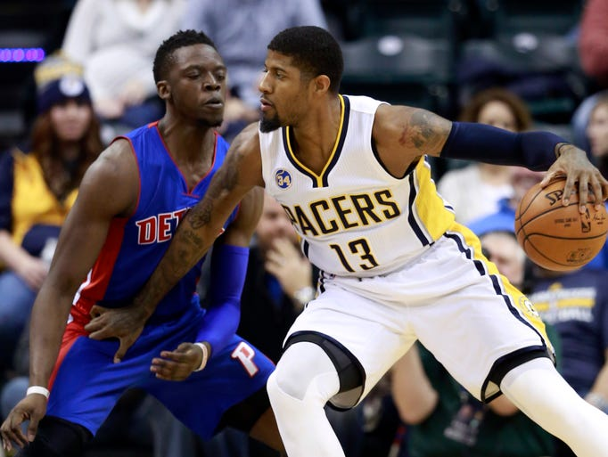Indiana 94, Detroit 82: Paul George pops Pistons; tempers ...