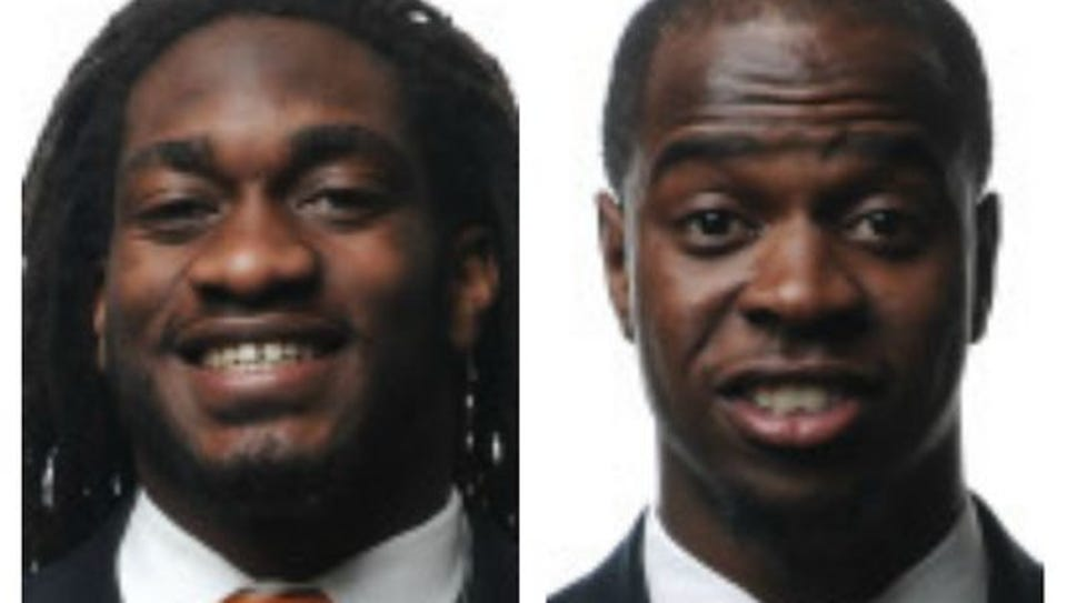 A.J. Johnson (left) and Michael Williams have been