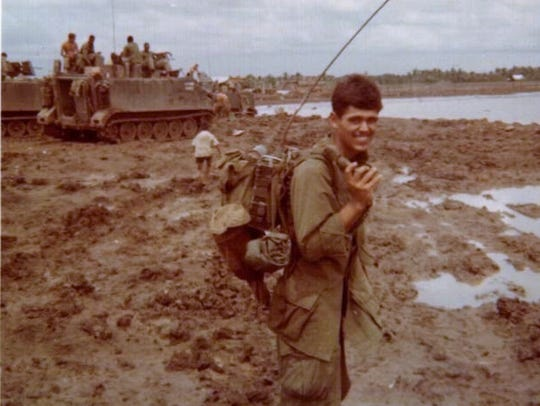 Don Ruch served as Army infantry radio operator in