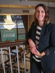 Julie Stegeman, an interior designer from Des Moines, helped create the look of Bubba Southern Comforts, the new restaurant from Chris Diebel and Orchestrate Hospitality.