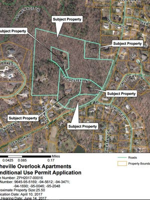 A Greensboro developer has pulled plans for 230 apartments and 30 town homes on Overlook Road after neighbors raised concerns about traffic and over-development. The company will likely come back with a plan for single-family homes and town homes.