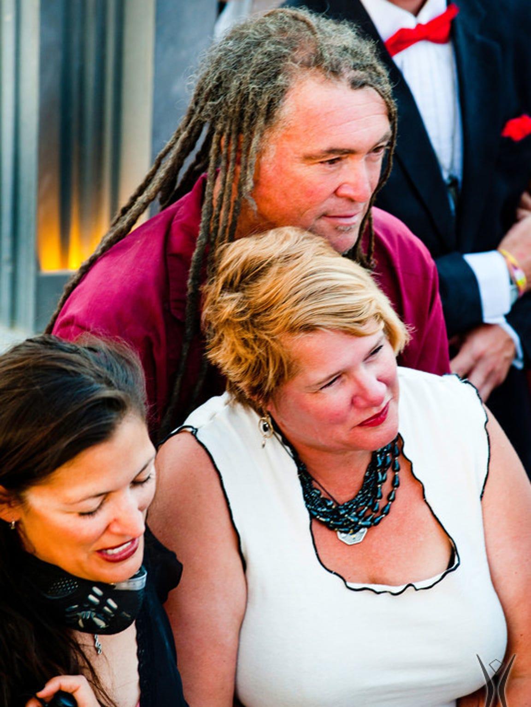 Burning Man founder Harley K. Dubois attends the wedding