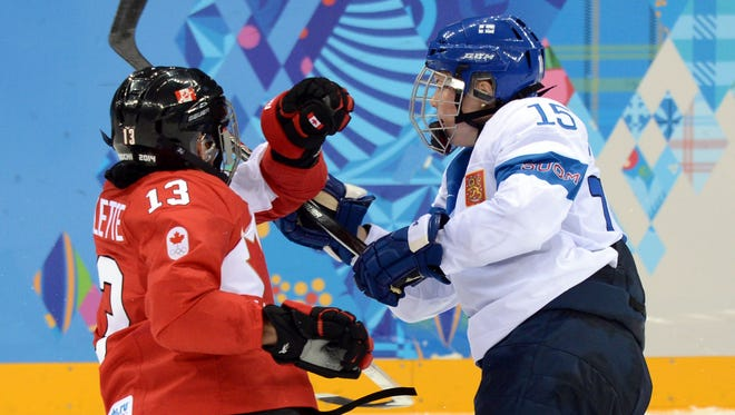 Finland held Canada off the board for nearly 50 minutes in a 3-0 loss this weekend.