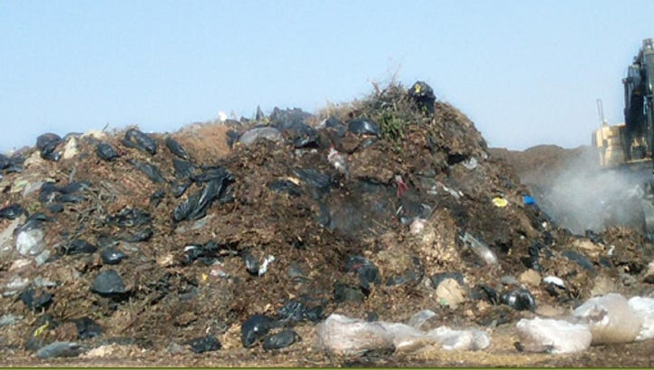 Yard waste plastic bag ban hearing on for Tuesday