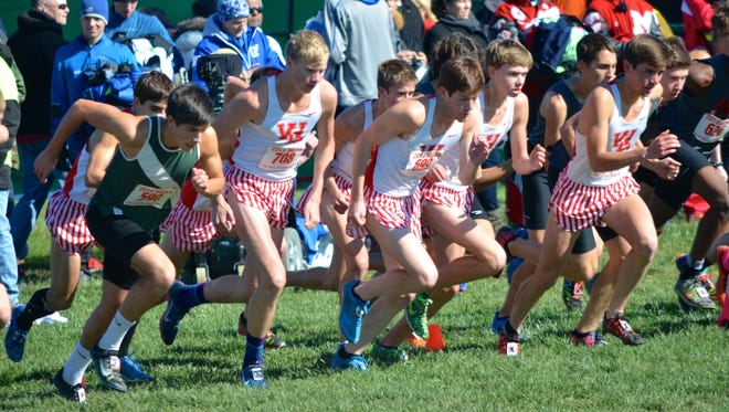 West Lafayette's boys take the first steps toward their first cross country state championship in 50 years.