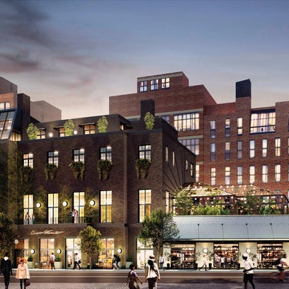 Bedrock releases new renderings of its Shinola Hotel project