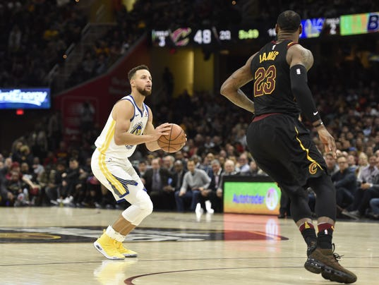 NBA: Golden State Warriors at Cleveland Cavaliers