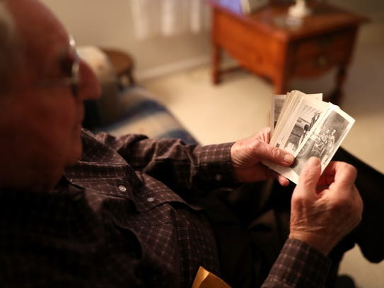 Bryce Thornton, a 92-year-old World War II veteran