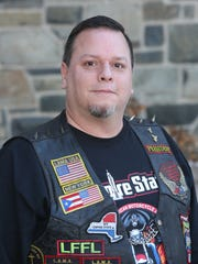 Mike Montalvo, president of the Empire State chapter of the Latin American Motorcycle Association on Wed., Jan. 10, 2018.