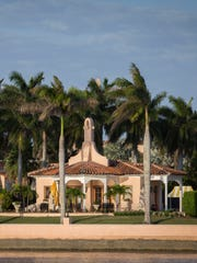 A view of Donald Trump's club at Mar-A-Lago, a few miles away from the Palm Beach International Airport in South Florida.