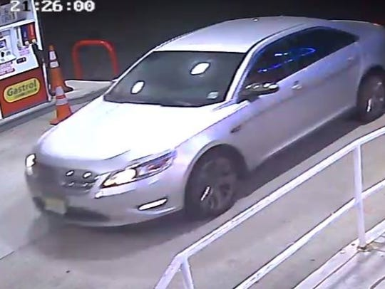 Police are searching for a man who held up a gas station