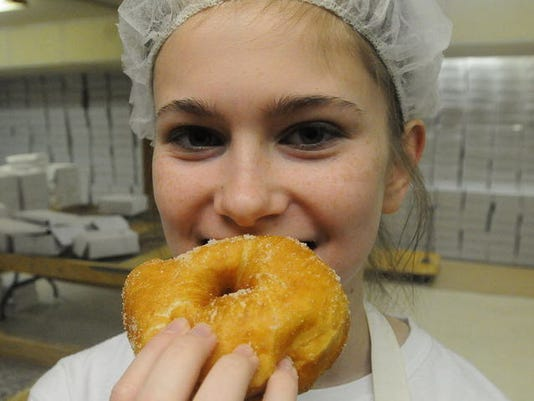 Fastnacht doughnuts