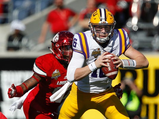 NCAA Football: Citrus Bowl-Louisiana State vs Louisville