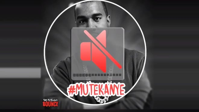 WMGC-FM released this image as a part of #MuteKanye segment.