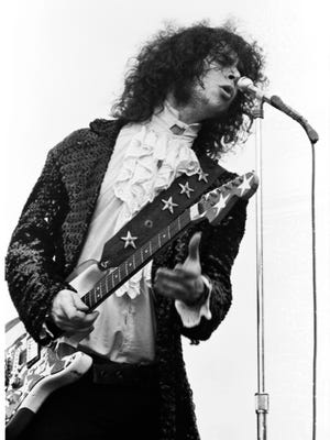 """MC5's Wayne Kramer, pictured here at a gig in the early '70s, has put together a supergroup, MC50, featuring members of Soundgarden, Fugazi, King's X and Zen Guerrilla. The group will perform MC5's """"Kick Out the Jams"""" in its entirety Sept. 25 at Turner Hall Ballroom. Tickets are $35."""