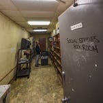 Disrepair at Simon Sanchez High School