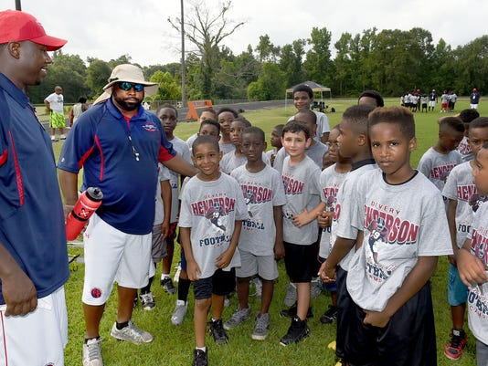 DEVERY HENDERSON FOOTBALL CAMP