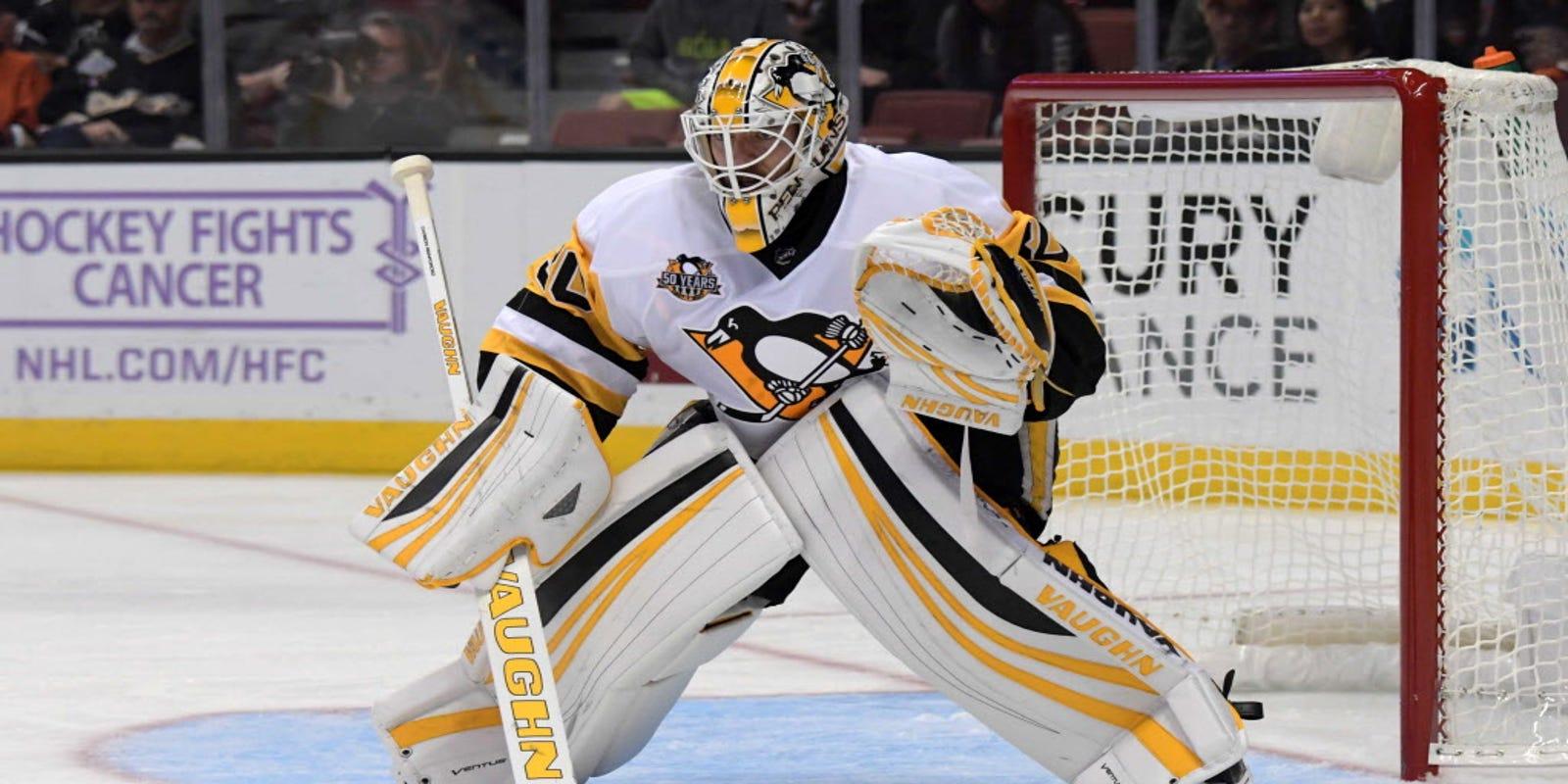 a7f5b549f Matt Murray wins season debut as Penguins top Ducks