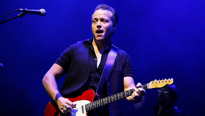 Jason Isbell performs with his band the 400 Unit at the Riverside Theater Jan. 24.