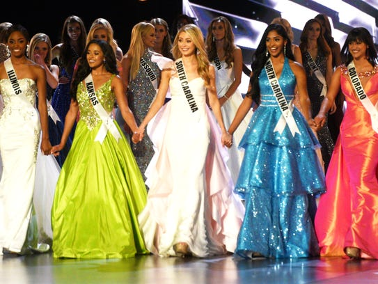 The 2018 Miss Teen USA finals competition Friday evening