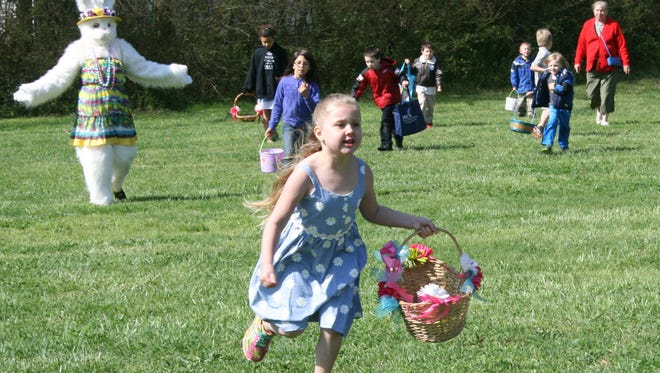 The time has come for area kids who have eagerly awaited the arrival of spring and the Easter Bunny. This weekend, several local spots will be hosting egg hunts, games and activities.