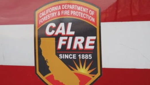 Firefighters contained a two-alarm structure fire in Indio Saturday afternoon.