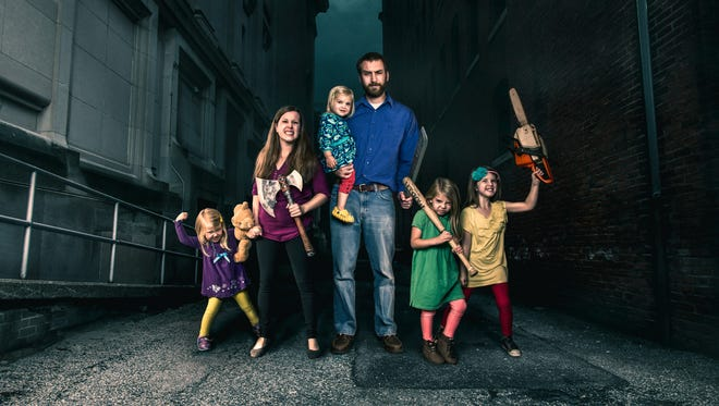 """James Breakwell has turned a comedy blog into a Twitter feed into a book, """"Only Dead on the Inside: A Parent's Guide to Surviving the Zombie Apocalypse."""""""